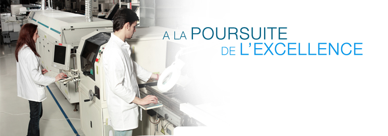 La poursuite de l'excellence